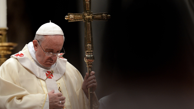 VATICAN-POPE-RELIGION-MASS