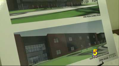 bentonville new high school plans