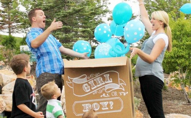 gender reveal pic