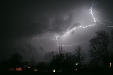 Storm from Fort Smith