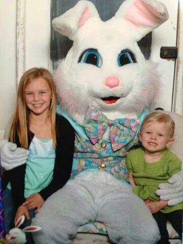 NWA Mall Easter Bunny Photo
