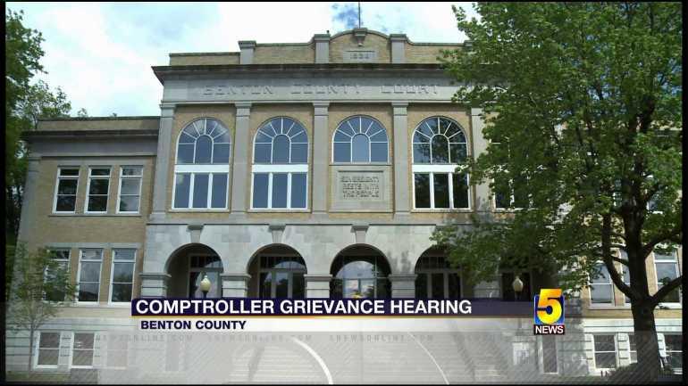Former Benton County Comptroller Appeals