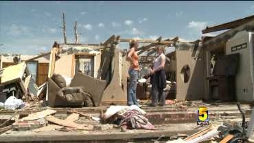 mayflower tornado damage
