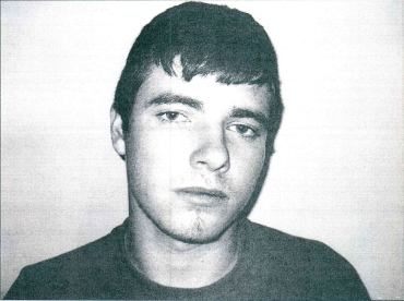 This is a mugshot of Brannon from an older case.