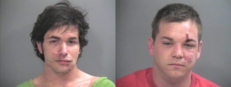 On the left is Bavis, and on the right is Hurst.