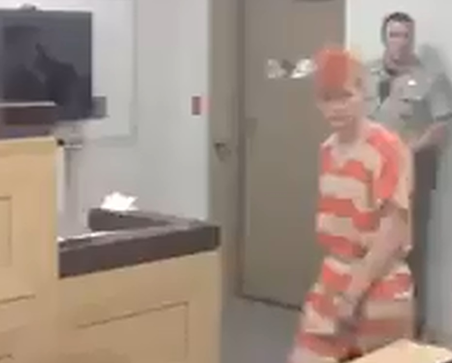 Brock Atkins appears in court for the first time in connection with LeAnn Frazier's death
