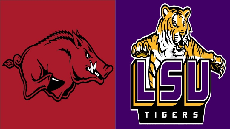 lsu arkansas