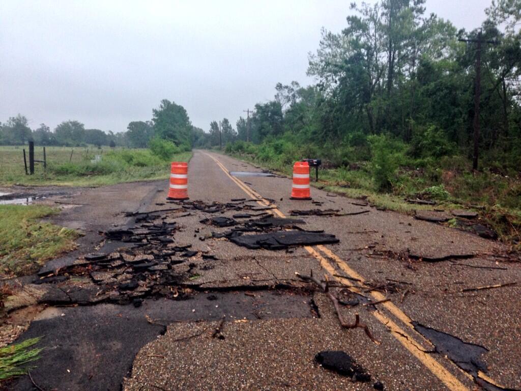 Polk County Flood Damage