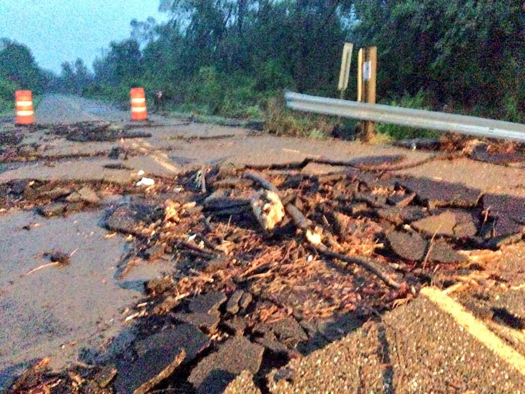 Polk County Flood Damage