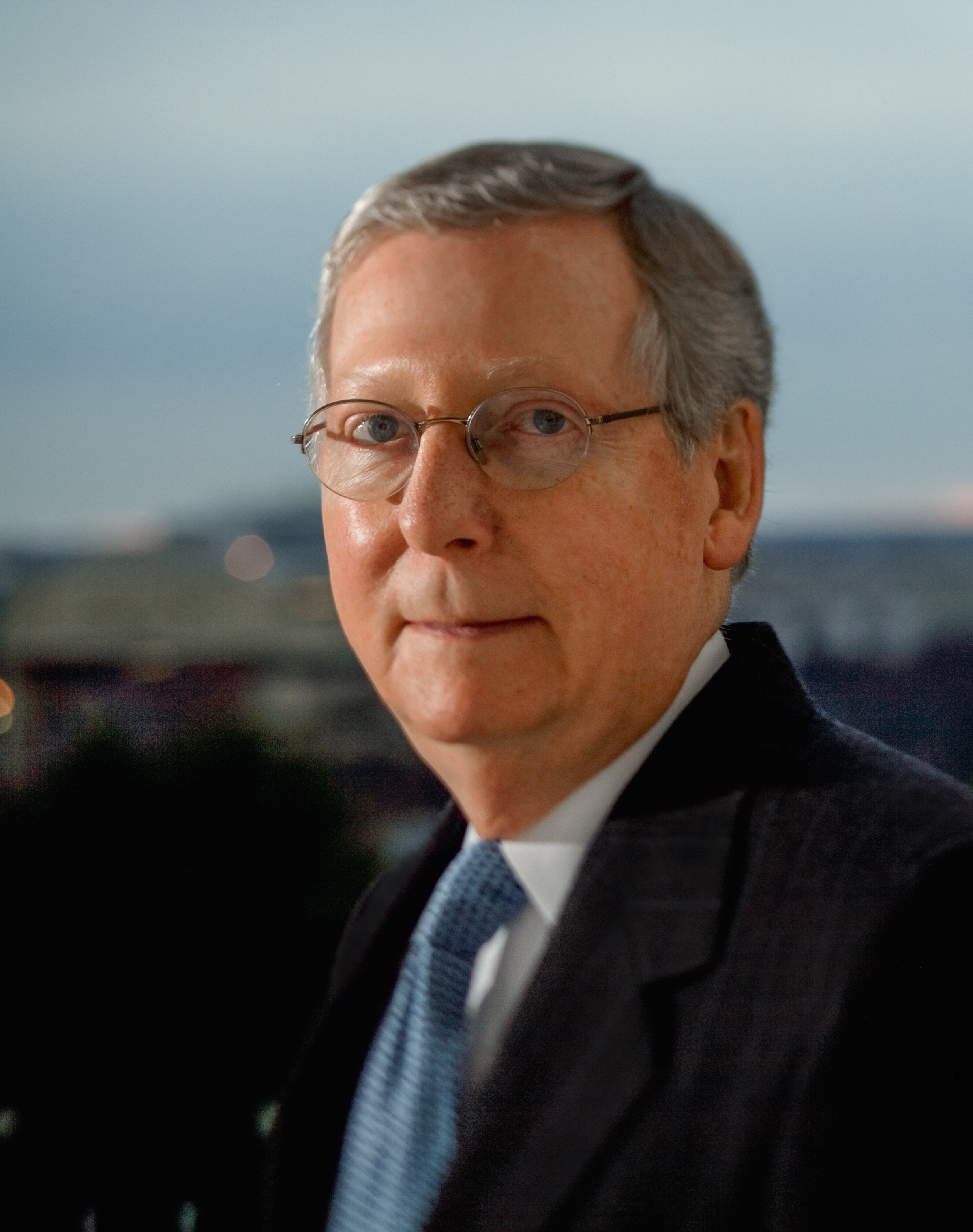 Courtesy: CNN   Sen. Mitch McConnell, (R) Kentucky, candidate for re-election to U.S. Senate in 2014. Official portrait from Mitch McConnell U.S. Senate office.
