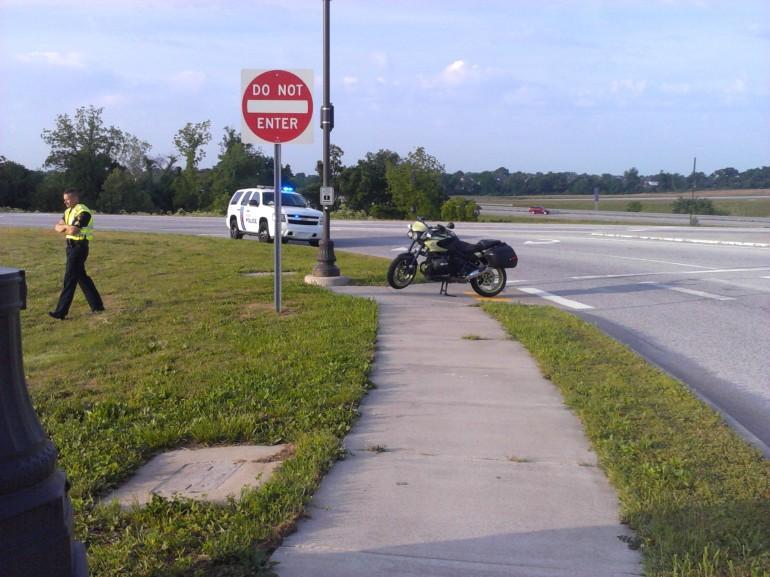 motocycle ax