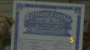 Arkansas Same Sex Marriage Licenses