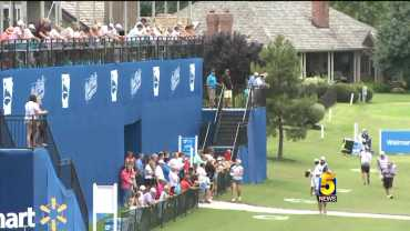 Golf Fans Get Loud At The 17th Hole