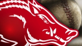 arkansas baseball ots left