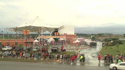 Weather Delays Country Music Concert At The AMP