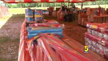 Firework Sales Begin Outside Of City Limits