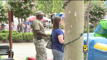 Military Service Members Appreciated At Freedom Fest In Rogers