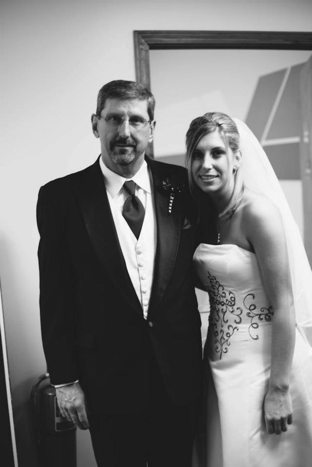 Jeff Haddock with daughter Carrie
