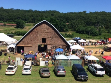 Grand Opening Of Junk Ranch Antique Show In Prairie Grove