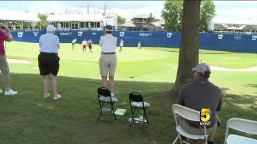 Shade Areas And Cooling Tents Available For LPGA Patrons