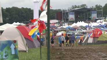 Final Day Of Wakarusa For 20,000 Attendees