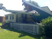 Porch Torn Off Of Benton County Home