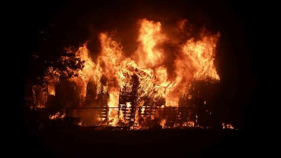 huntington fire