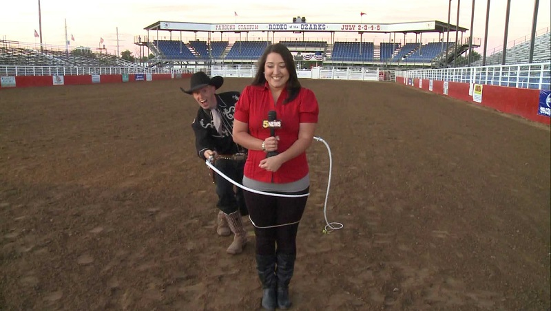 Video Ropin And Ridin At Rodeo Of The Ozarks Fort
