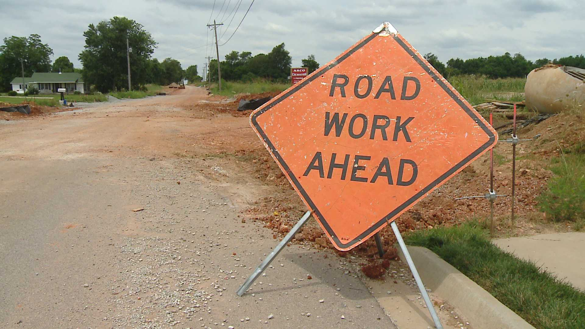 Big Budget Means More Road Construction In Centerton