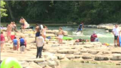 Swift Water Safety Class Held At Whitewater Park