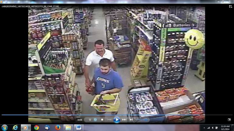 Booze Theft Suspects