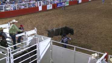 Bull Riding Parsons Stadium