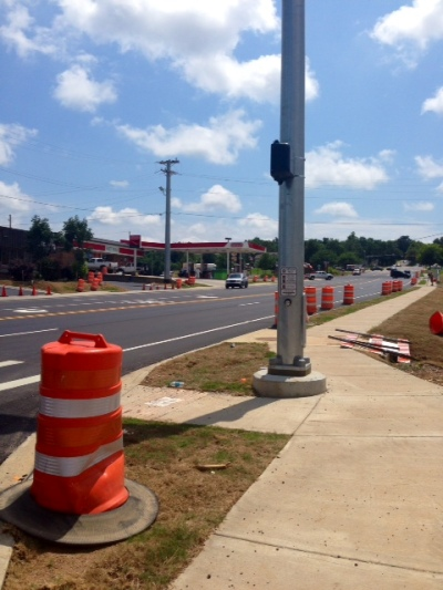 Garland Road Work Completed