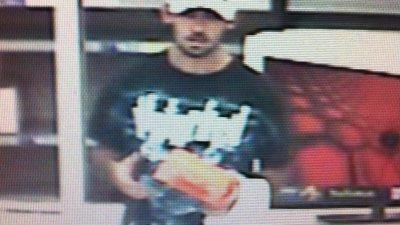 Rogers Police Seek Man On Suspicion Of Stealing From Walmart