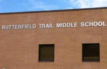 butterfield trail middle school van buren