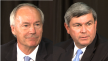 Asa Hutchinson and Mike Ross