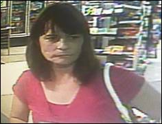 Credit Card Theft Suspect
