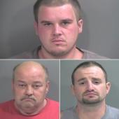 Three Arrested