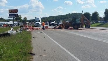 truck wreck bella vista