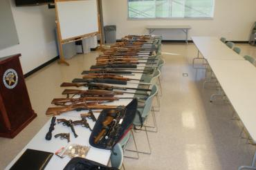 guns on table ben co investigation