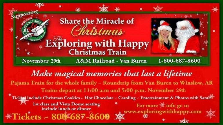 Happy Christmas Train