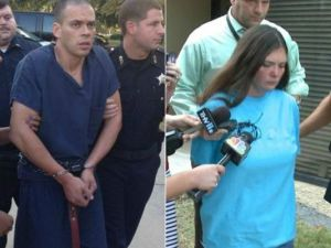 Capital murder suspects Arron Lewis and Crystal Lowery