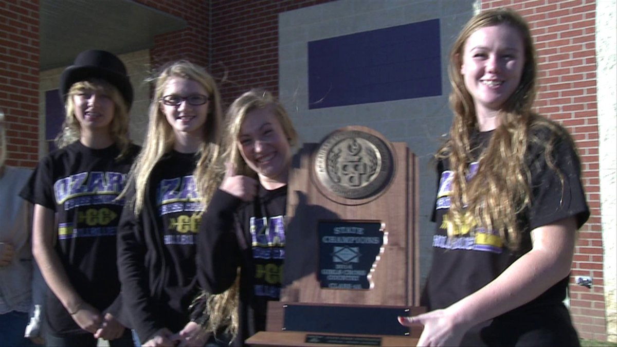 Ozark Girls Cross Country Wins First State Title Fort