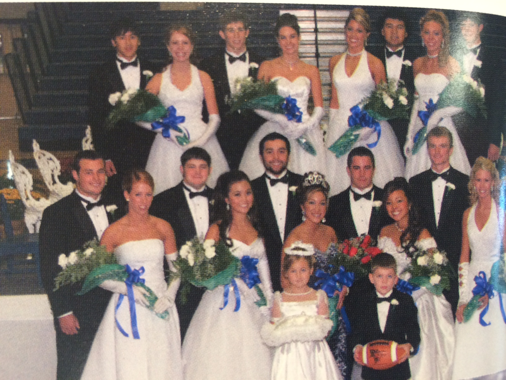 Christopher Freeman was part of homecoming royalty during his sophomore year at Rogers High School.