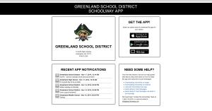 GREENLAND SCHOOLS APP