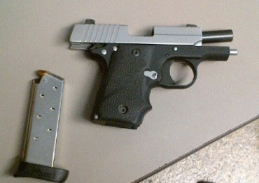 Loaded gun found in carry-on
