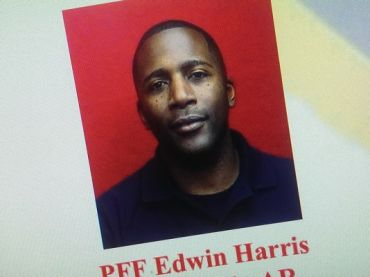 Courtesy: littlerock.org Edwin Harris in personnel flyer from 2012.