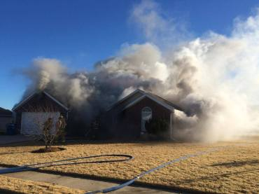 pea ridge house fire