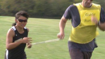 blind running
