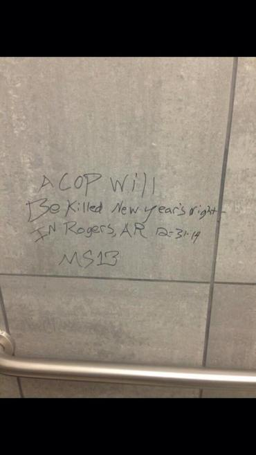 kill cop graffiti